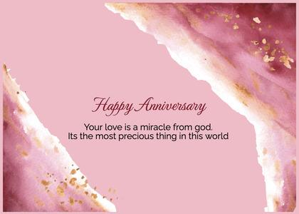 anniversary card 92 cream creme