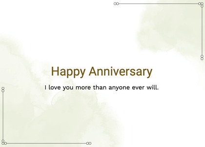 anniversary card 95 text page