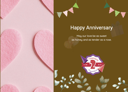 anniversary card 99 advertisement poster