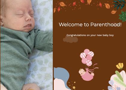 babyshower card 109 person human