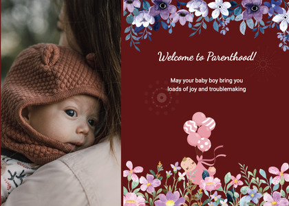 babyshower card 112 clothing person