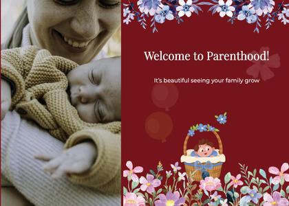 babyshower card 118 newborn baby