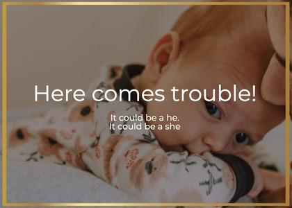 babyshower card 125 newborn person