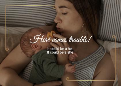 babyshower card 137 newborn person