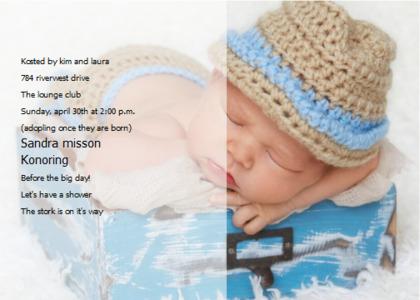 babyshower card 15 clothing apparel