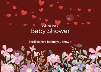 babyshower card 156 envelope graphics