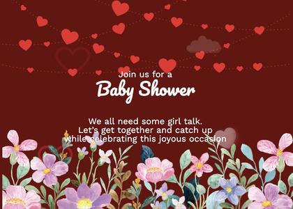 babyshower card 171 advertisement poster