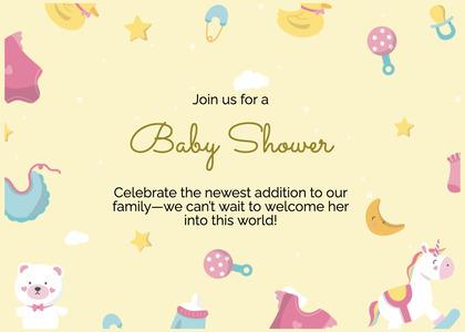 babyshower card 177 text bird
