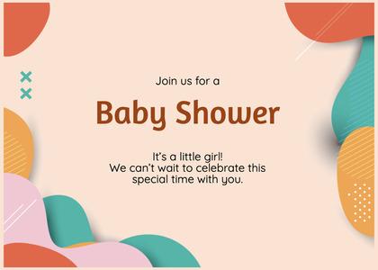 babyshower card 189 clothing apparel