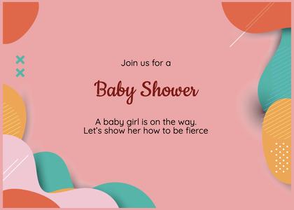 babyshower card 196 clothing apparel