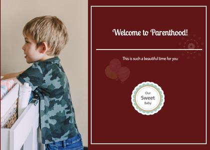 babyshower card 21 person passport