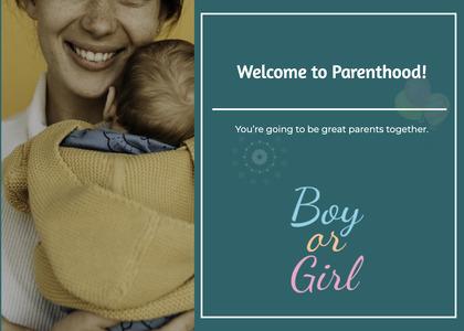 babyshower card 22 newborn person