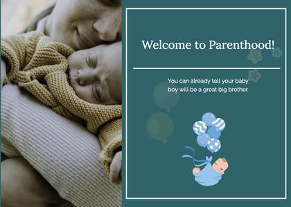 babyshower card 31 newborn person
