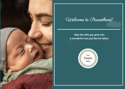 babyshower card 32 newborn person