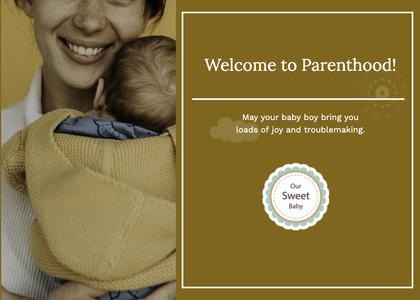 babyshower card 36 newborn baby