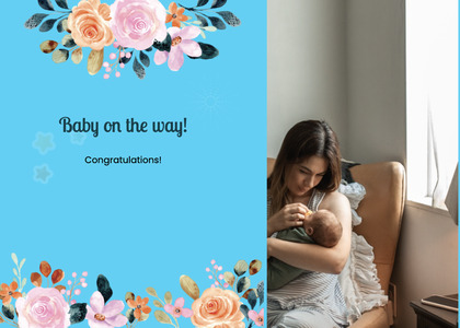 babyshower card 51 person human