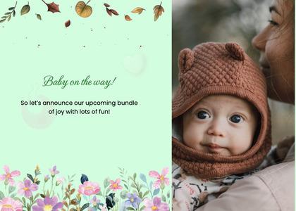 babyshower card 57 clothing apparel