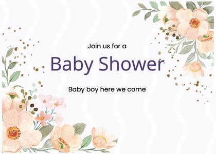 babyshower card 72 graphics art