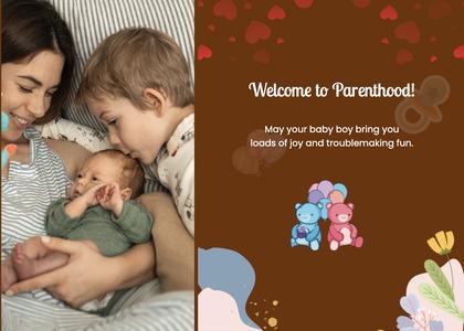 babyshower card 89 newborn person