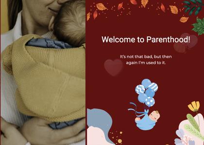 babyshower card 97 newborn baby