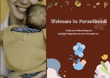 babyshower card 99 newborn person