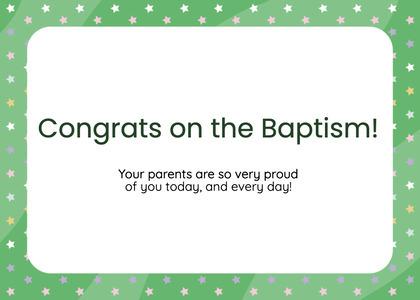 baptism card 102 business card text