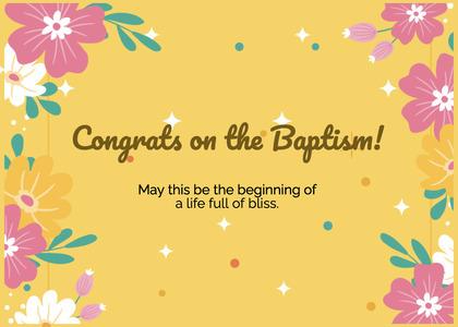 baptism card 104 graphics art