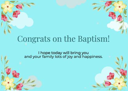 baptism card 108 graphics art