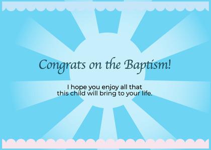 baptism card 119 nature outdoors