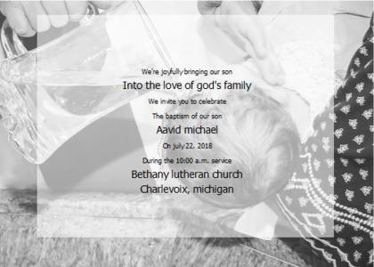 baptism card 12 nature text