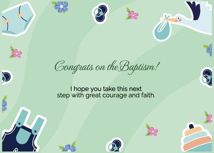 baptism card 122 text flyer