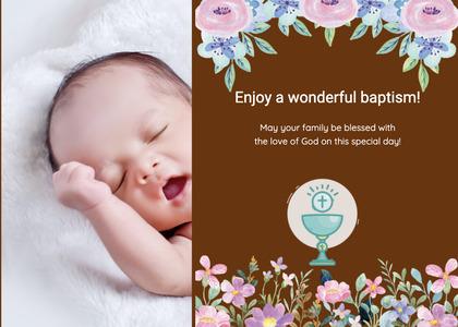 baptism card 155 newborn person