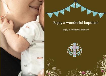baptism card 158 person human