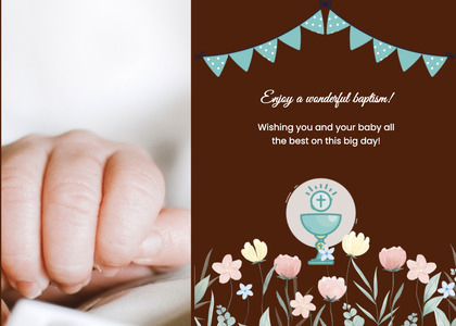 baptism card 172 person advertisement