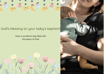 baptism card 179 person human