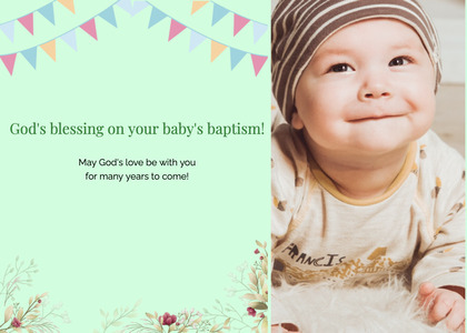 baptism card 181 person human