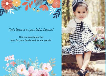 baptism card 184 clothing apparel