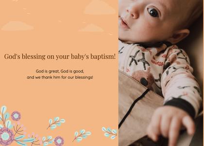 baptism card 185 person human