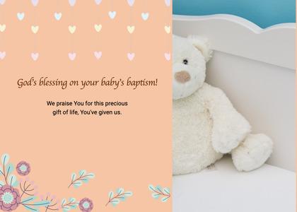 baptism card 199 menu text