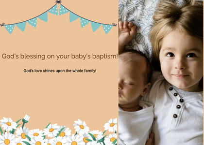 baptism card 204 person human