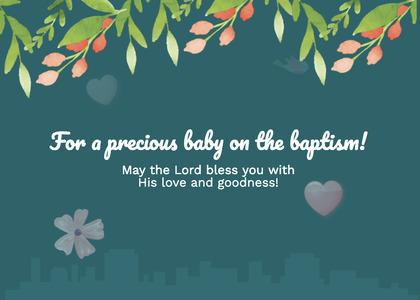 baptism card 235 advertisement flyer