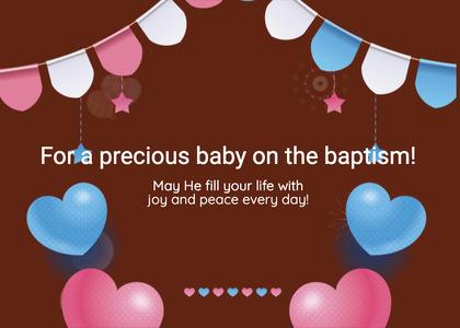 baptism card 236 paper temptag