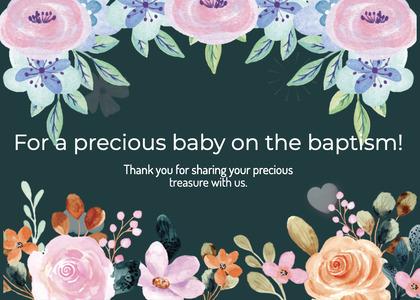 baptism card 244 graphics art