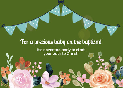 baptism card 247 graphics art