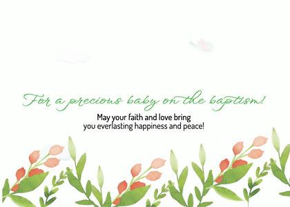 baptism card 26 text plant