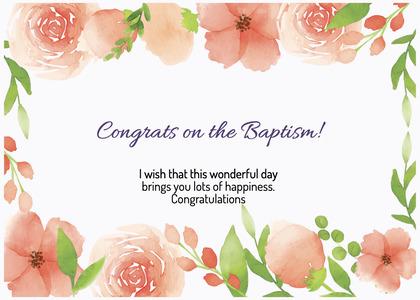 baptism card 297 cream creme