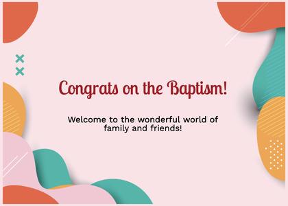 baptism card 298 clothing apparel