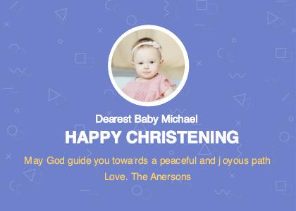 baptism card 3 advertisement poster
