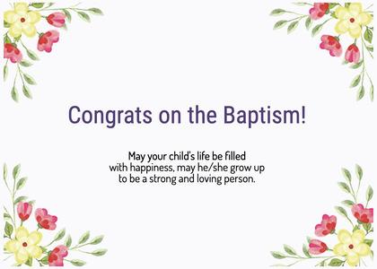 baptism card 300 floraldesign graphics
