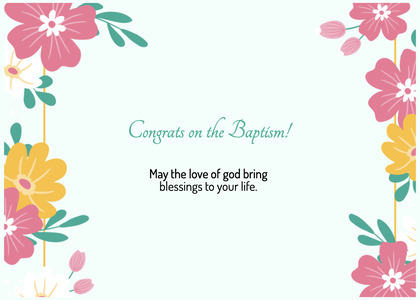 baptism card 302 floraldesign graphics